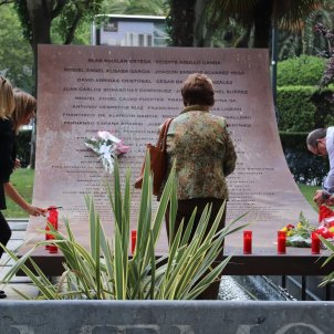 homenatge víctimes YAK 42 Europa Press