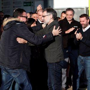 Jordi Cuixart surt d epermís per treballar EFE