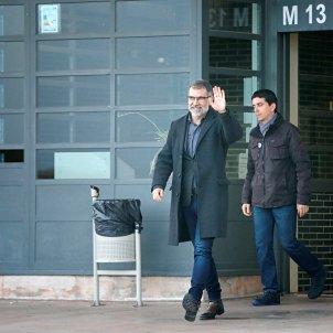 Jordi Cuixart surt de la presó de Lledoners per anar a treballar 13 febrer EFE