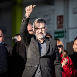 Jordi Cuixart primer dia feina Europa Press