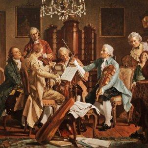 Haydn Playing Schubertiada StaatsMuseum, Vienna Viquipèdia