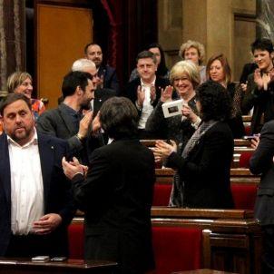 rigau ovació parlament acn