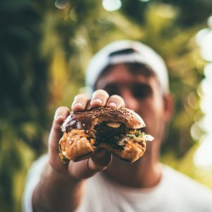 Hamburguesa Unsplash