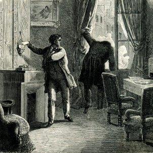 La carta robada (Fréderic Théodore Lix, 1864)
