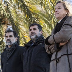Jordi Sanchez, Jordi Cuixart i Neus Lloveras - Sergi Alcàzar