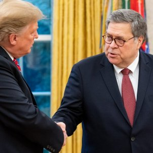 William Barr i Donald Trump - Departament de Justícia dels Estats Units