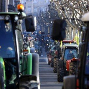 manifestació pagesos Lleida - ACN