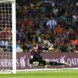 Jasper Cillessen Barça Alabes Camp Nou EFE