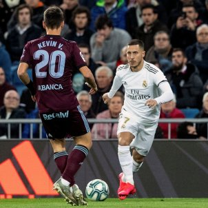 Hazard Kevin Vázquez Reial Madrid Celta EFE