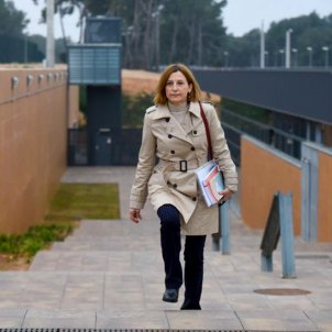 Car,me Forcadell surt presó febrer 2020 Foto: Marc Puig