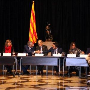 Relat Marín Collboni Torra Aragonés reunió Mobile Palau Generalitat  ACN