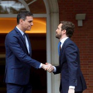 Sánchez i Casado EFE