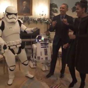 obama michelle star wars