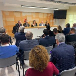 reunió Àngels Chacón municipis Tarragona - @empresacat