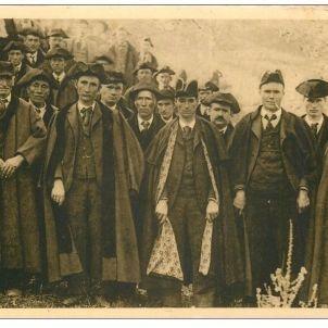 Andorra constitueix el seu primer Parlament. Consellers. Any 1908