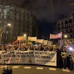 manifestació treballadors nissan - @JaviAdalid