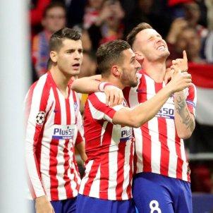 Saul Koke Morata Atletic Madrid Liverpool Champions EFE