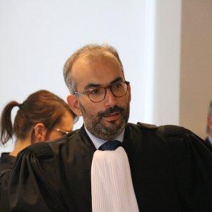 Hakim Boularbah, defensa Pablo Llarena - ACN