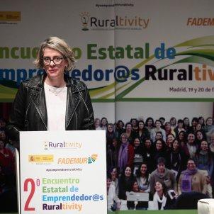 EuropaPress Teresa López mujeres rurales Eduardo Parra / Europa Press
