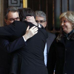 Mas Puigdemont - EFE