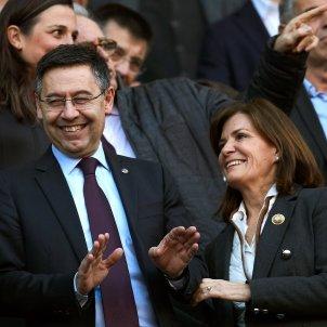 Josep Maria Bartomeu Amaia Gorostiza Barça Eibar llotja Camp Nou EFE