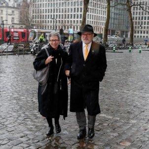 Lluís Puig Palau de Justícia de Brussel·les EFE
