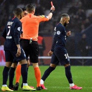 Neymar vermella expulsió PSG EFE