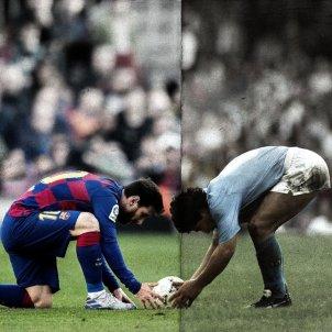 Messi Maradona Barça Nàpols FC Barcelona