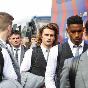 Griezmann Barça viatge avió FC Barcelona