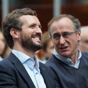 Pablo Casado  Alfonso Alonso PP - H.BILBAO / EUROPA PRESS