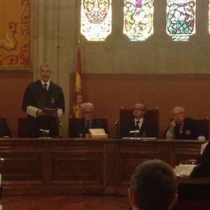 Antonio Recio, president de l'Audiència de Barcelona