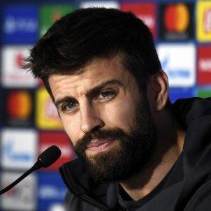 Gerard Piqué Barça roda de premsa EFE
