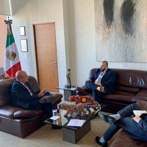 delegat govern generalitat Mexic Twitter