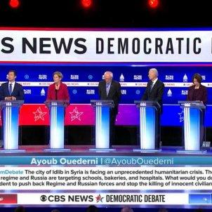 debate cbs news democratic debate
