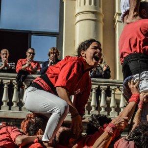 Dones Castelleres Castellers de Barcelona Carla hernandez