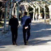 President Quim Torra president espanyol Pedro Sanchez taula dialeg Moncloa - Efe