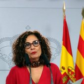 Ministra Maria Jesus Montero roda de premsa taula dialeg - ACN