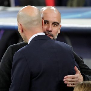 guardiola zidane madrid efe