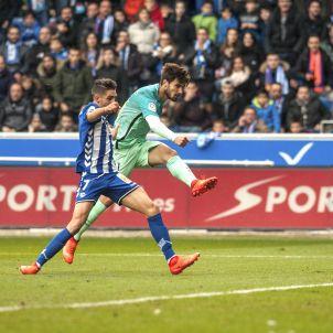 André Gomes Alabès Barça Efe