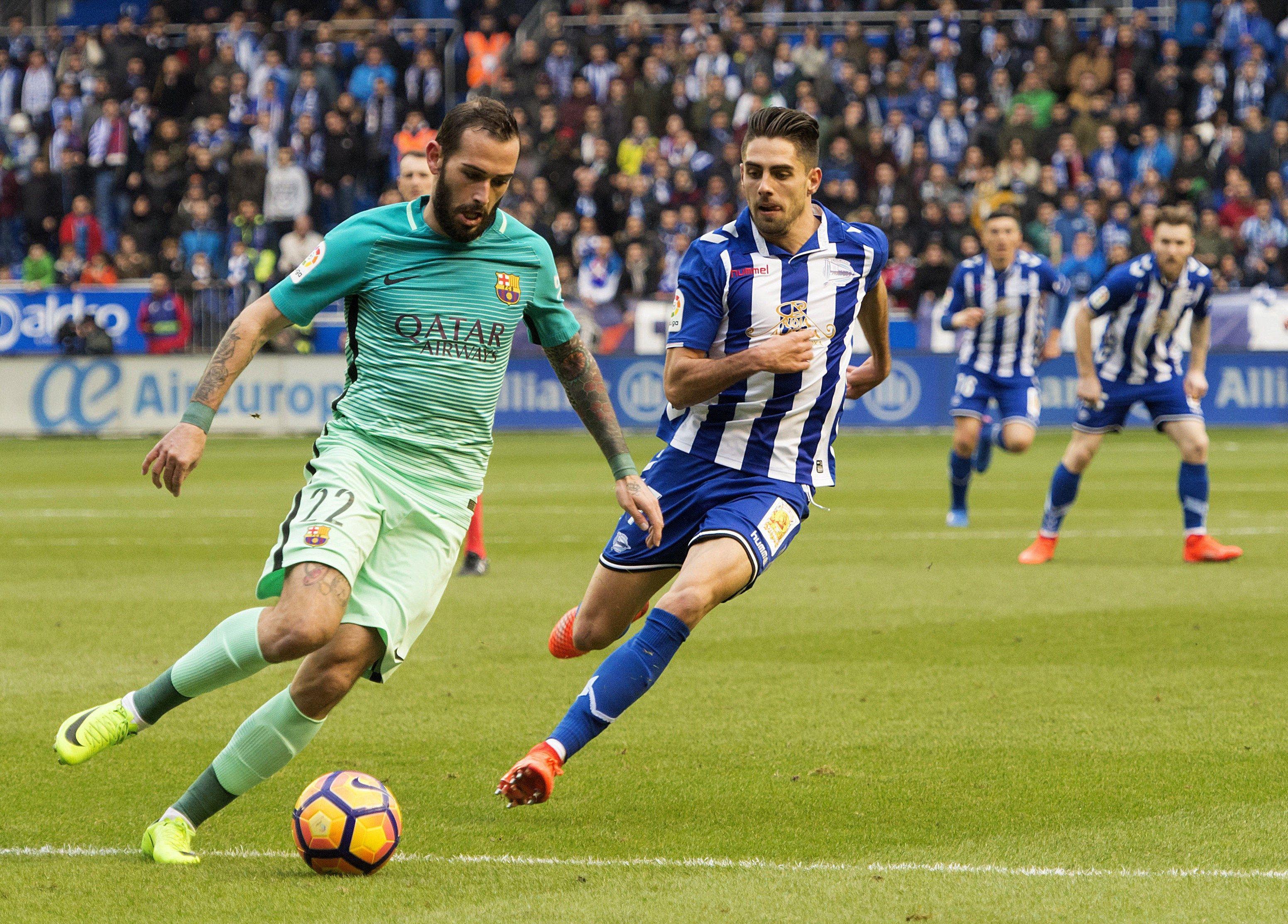 Aleix Vidal Alabès Barça Efe
