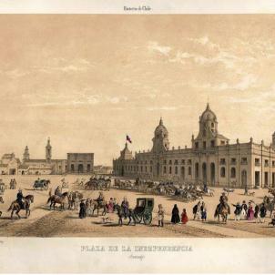 L'arrel catalana de Santiago de Xile. Plaza de Armas. 1852 (1)