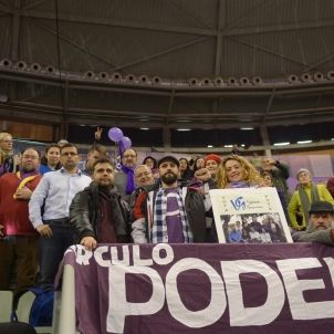 podemos militants vistalegre