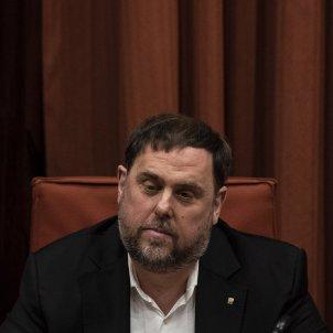 Oriol Junqueras comissió 155 Parlament Europa Press