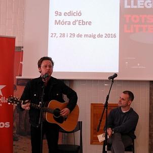 Jordi Llavia i David Carabén. Presentació Litterarum