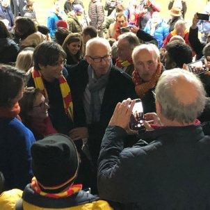 Carles Puigdemont estadi USAP Perpinyà - Marina Fernàndez