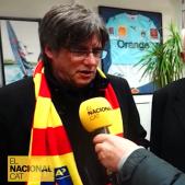 """Puigdemont, a El Nacional des de Perpinyà: """"Altre cop Europa comença al Pirineu"""""""