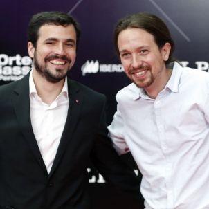 Alberto Garzón i Pablo Iglesias