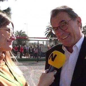 Artur Mas Marina Fernàndez Perpinyà