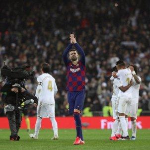 Piqué Reial Madrid Barça Bernabéu EFE