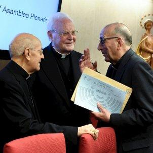 Ricardo Blazquez Joan Josep Omella president Conferència Episcopal Española EFE